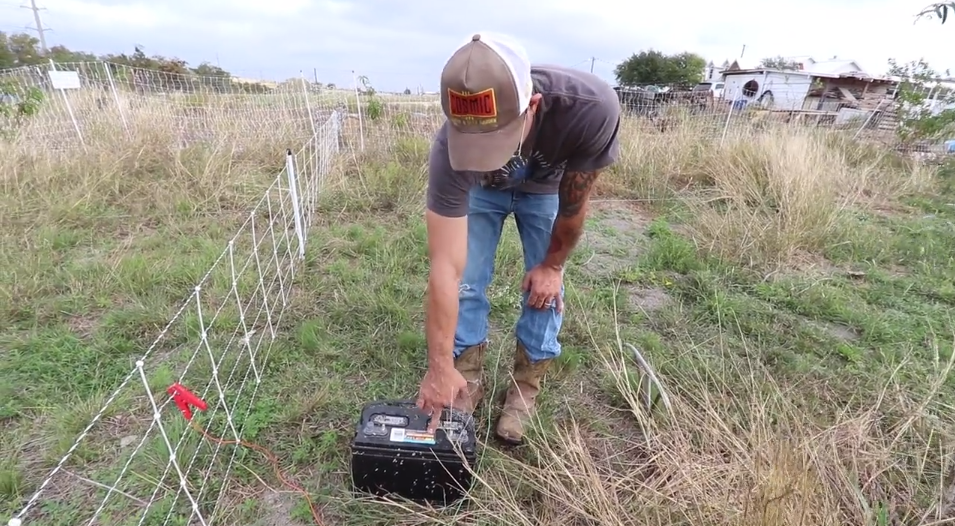 Power Your Electric Fence (without solar or plug in electricity)