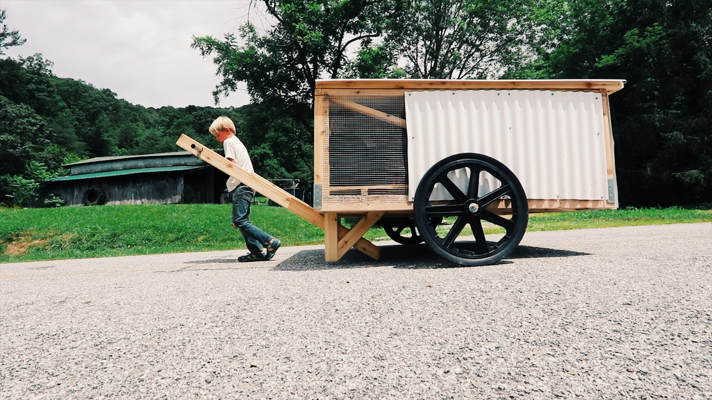 DIY Mobile Chicken Coop – ChickShaw 2.0 Plans