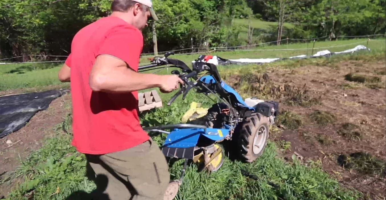 How to Prepare New Garden Ground Silage Tarp and a Rotary Plow