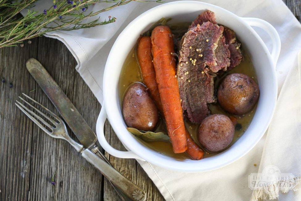 Homemade Corned Beef Recipe ~ By Jill Winger