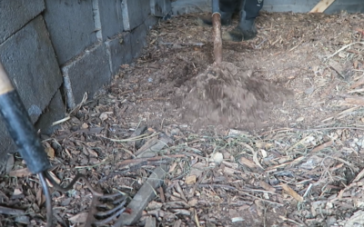 How to Get Compost Out of Your Static Coop and Run